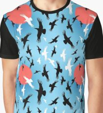 Flocks of crows circling   Graphic T-Shirt