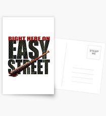 The Walking Dead - Easy Street Postcards