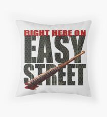 The Walking Dead - Easy Street Throw Pillow