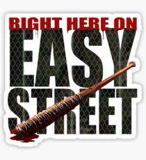 The Walking Dead - Easy Street Sticker