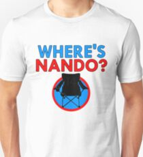 Where's Nando? (Alonso) Unisex T-Shirt