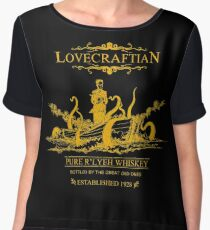 Lovecraftian - R'lyeh Whiskey Gold Label Women's Chiffon Top