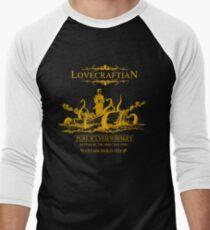 Lovecraftian - R'lyeh Whiskey Gold Label Men's Baseball ¾ T-Shirt
