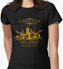 Lovecraftian - R'lyeh Whiskey Gold Label Women's Fitted T-Shirt