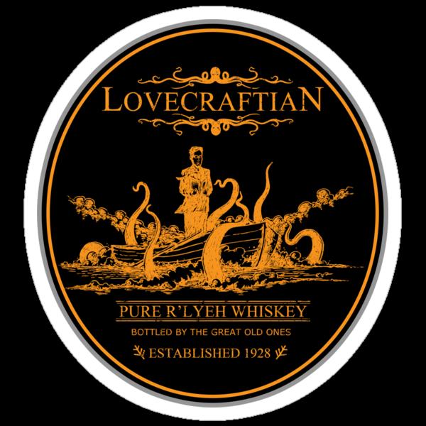 Lovecraftian - R'lyeh Whiskey Gold Label by pigboom