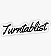 Turntablist Sticker