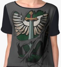 Dark Angels Armor Chiffon Top