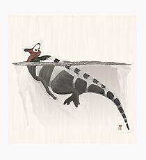 Corythosaurus Photographic Print