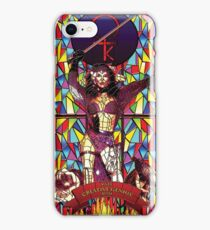 Stained glass design: Kate Bush iPhone Case/Skin