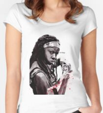 Michonne Women's Fitted Scoop T-Shirt