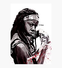 Michonne Photographic Print