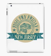 NEW JERSEY FISH FRY iPad Case/Skin