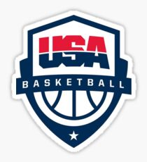 Team USA basketball Sticker