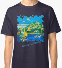 SAILING'S A BREEZE - OCEAN ART Classic T-Shirt