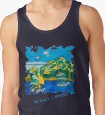 SAILING'S A BREEZE - OCEAN ART Tank Top