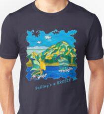 SAILING'S A BREEZE - OCEAN ART Slim Fit T-Shirt