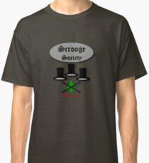 Bah Humbug Scrooge SocieTEE design Classic T-Shirt