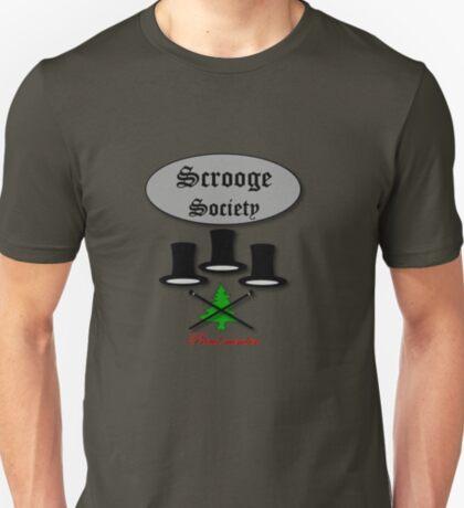 Bah Humbug Scrooge SocieTEE design T-Shirt