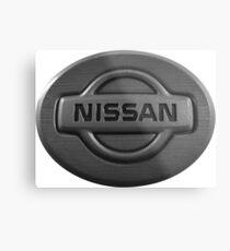 NISSAN Metal Print