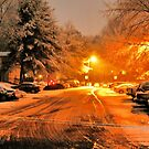 "'""A Snowy Evening in Knoxville' (a series, no.1)""... prints and products by © Bob Hall"