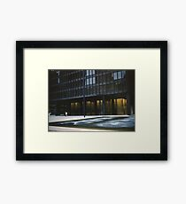 Seagram Plaza Framed Print