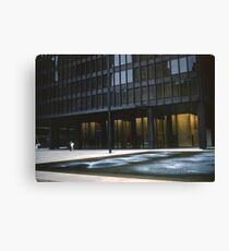 Seagram Plaza Canvas Print