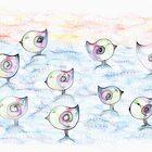 Scratchy Birds by Megan Stone