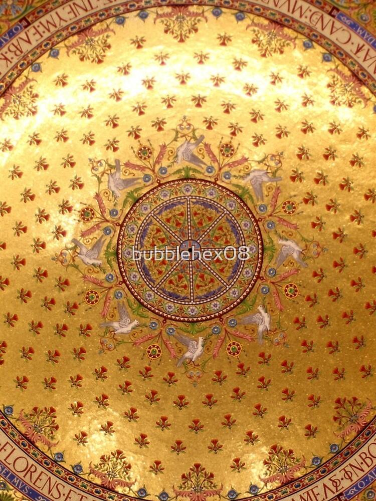 Notre-Dame de la Garde - a detail view of the ceiling von bubblehex08