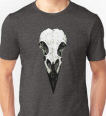 Raven Skull Slim Fit T-Shirt