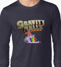 gravity falls gnome puke Long Sleeve T-Shirt