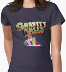 gravity falls gnome puke Women's Fitted T-Shirt