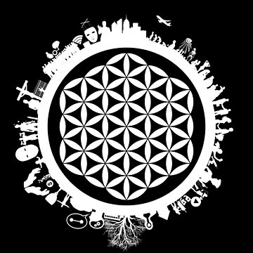 Sacred Geometry: Flower Of Life - Manifestation (Astrological) by pubicbear