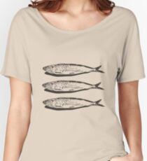 Sardines Women's Relaxed Fit T-Shirt