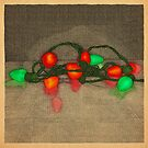 Lights in Red and Green by MegsWhimsy