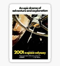 2001: A Space Odyssey Sticker Sticker