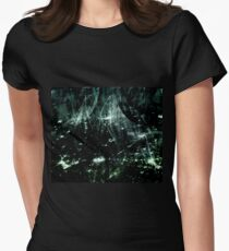 Stellar (jade) Womens Fitted T-Shirt