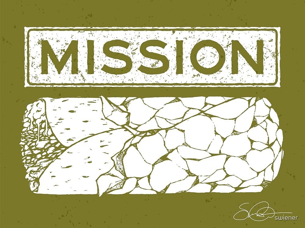 Mission Burrito by swiener