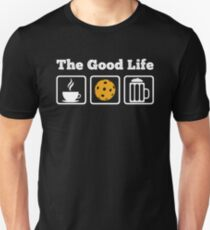 Coffee, Pickleball and Beer! The Good Life T-Shirt