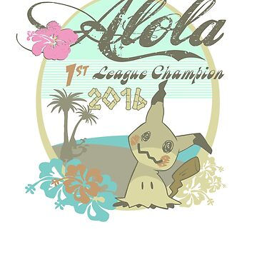 Alola League Champion - Mimikyu by RockmelonSoda