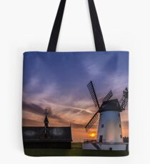 Lytham Windmill at Sunset Tote Bag
