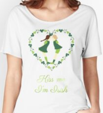 Kiss me I'm Irish Women's Relaxed Fit T-Shirt
