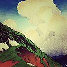 The Hike to Mt Harusan by Kijiermono