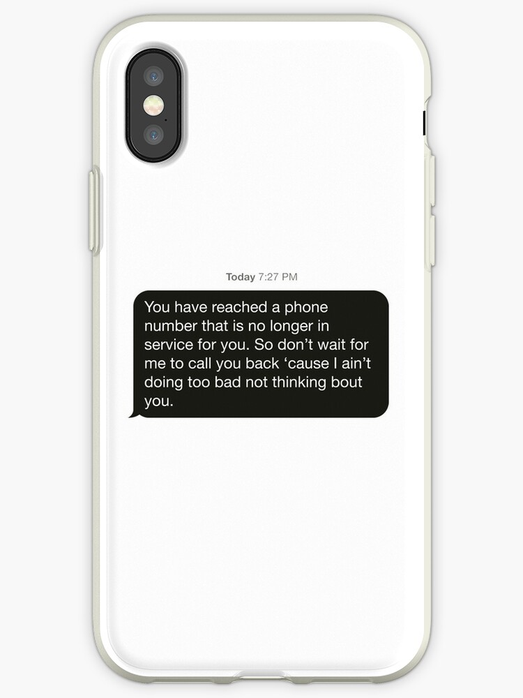 'Voicemail Text Bubble Fifth Harmony' iPhone Case by ReversalApparel