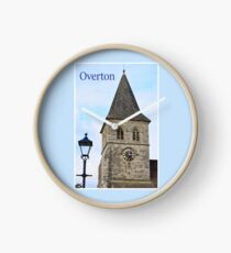 St Mary's Church Tower, Overton Clock