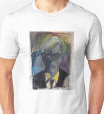 Andy Warhol - portrait of the artist Unisex T-Shirt