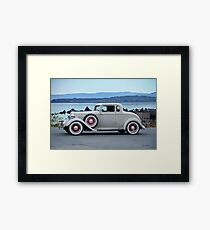 1933 Plymouth PD Coupe Framed Print