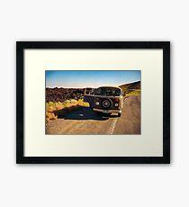 Road Tripper Framed Print