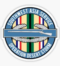Southwest Asia CIB Desert Storm Sticker