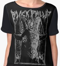 Black Metal Phillip Chiffon Top