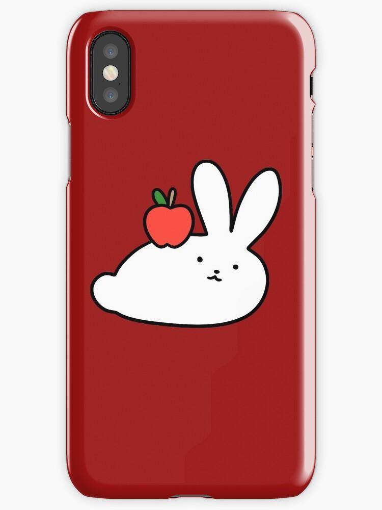 Apple Bunny by SaradaBoru